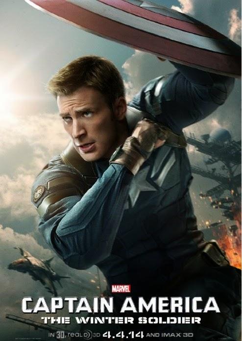 Afiche del Capitán América y el Soldado de Invierno