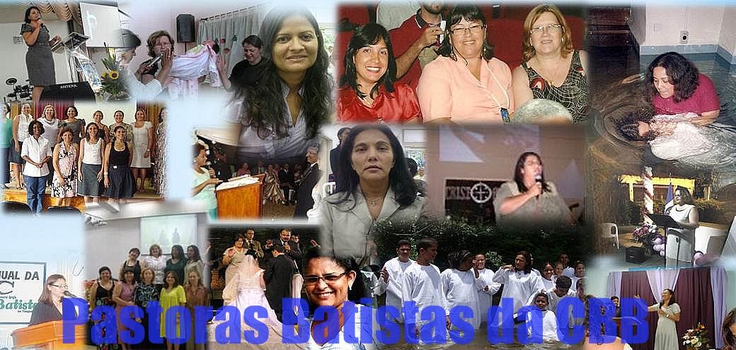 Blog das Pastoras Batistas da CBB