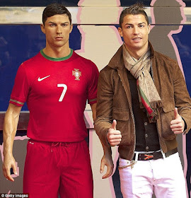 C.Ronaldo spends $6.1million on wax figure of himself