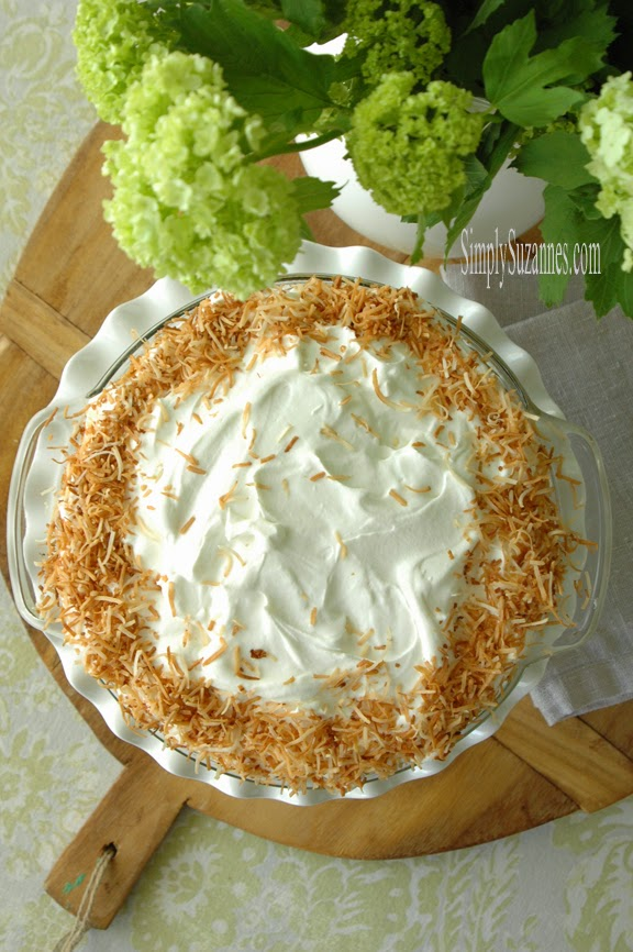 triple coconut cream pie