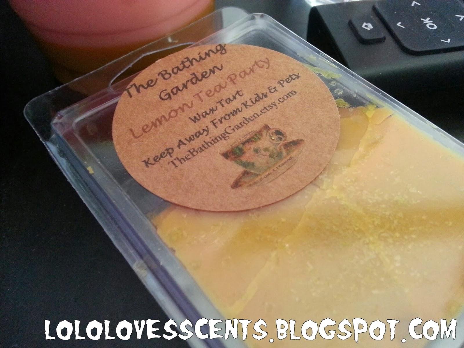 Lolo Loves Scents: Review: The Bathing Garden\'s Lemon Tea Party