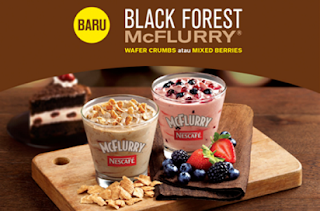 Paket Promo McDonald McFlurry Black Forest