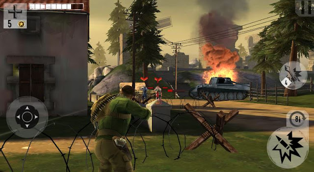 Brothers in Arms 3 Android v1.4.1b Full Hileli Apk+Data İndir