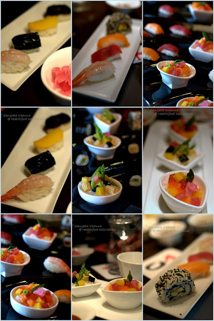 Sushi by Masahiko Saito at The One, Le Meridien...