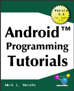 Android Programming Tutorials 3rd Edition , ANDROID PROGRAMMING EBOOK , ANDROID BOOKS  , android tutorials