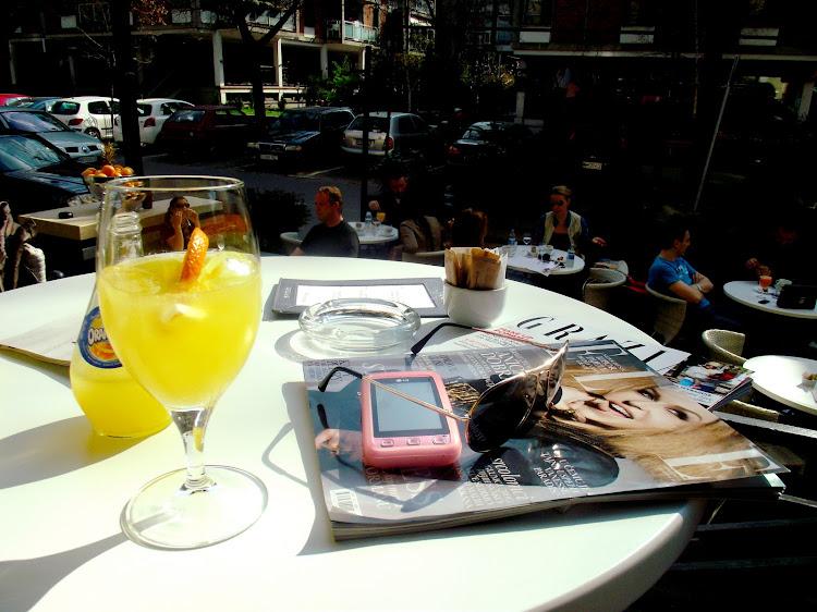 Uživanje u sporom popodnevu…
