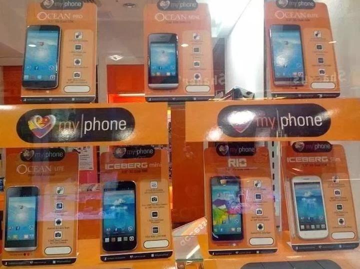 MyPhone New Line-up Of Smartphones