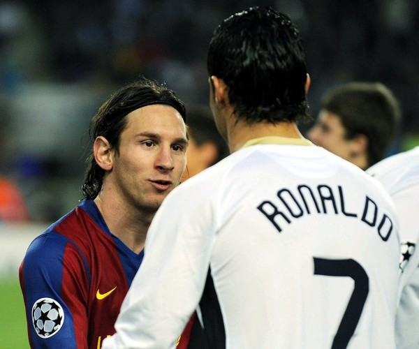 messi vs ronaldo 2011. Ronaldo vs Messi on El Clásico