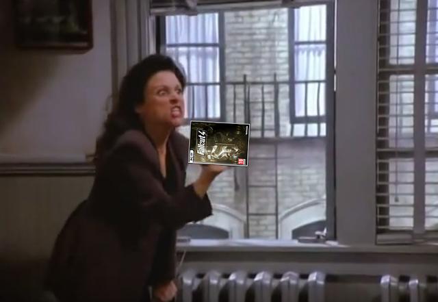 Seinfeld Elaine Benes Fallout 4 The Beard George wig