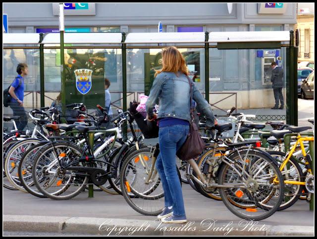 Bicycle Versailles gare rive droite