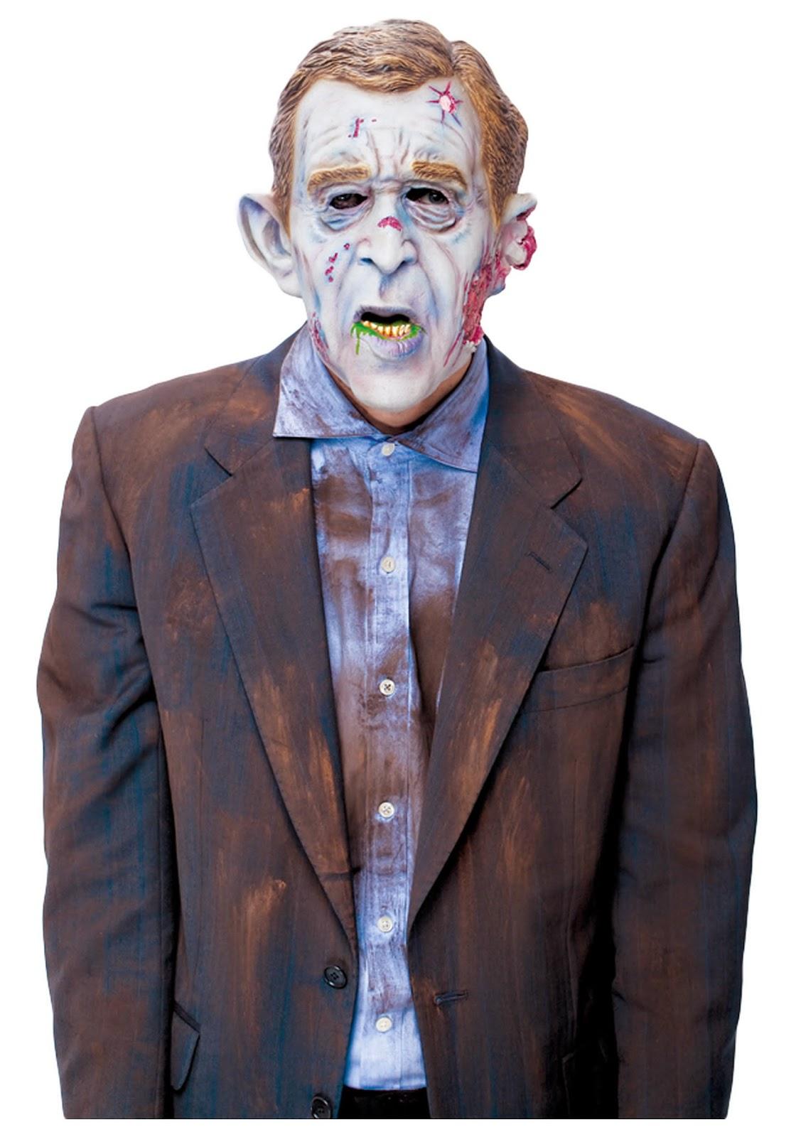 Zombie George Bush halloween costume