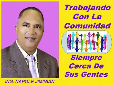 NAPOLE JIMINIAN CON LA COMUNIDAD