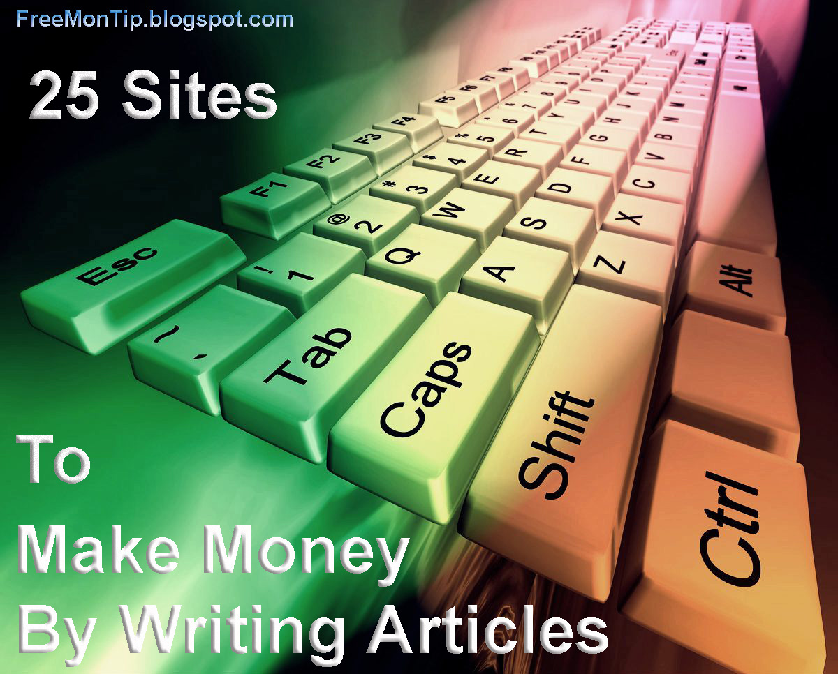 earn money online writing articles Can i earn online by writing articles or blogs in india update cancel promoted by shopify how can i earn money by writing articles online.