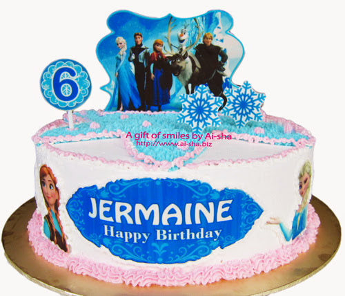 Edible Cake Pictures Frozen : Birthday Cake Edible Image Disney Frozen - Aisha Puchong Jaya
