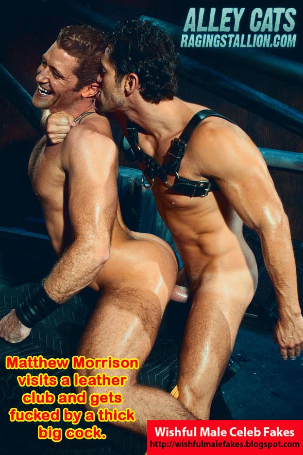 from Davion matthew morrison not gay elle