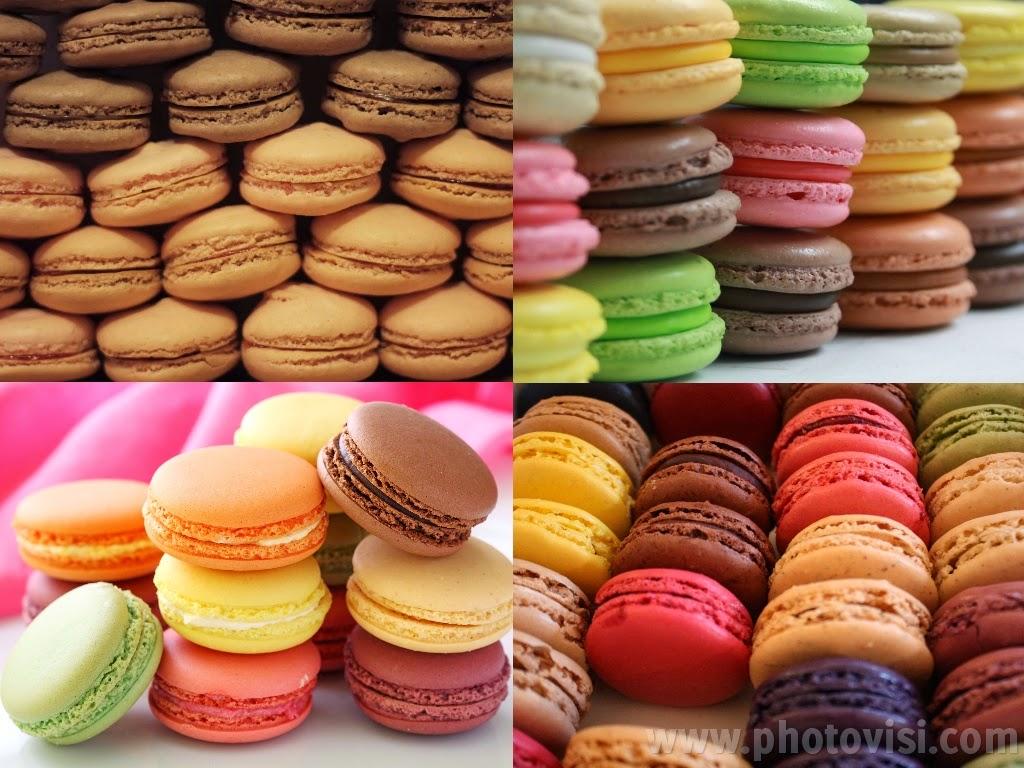 طريقة عمل الماكرون الفرنسي بالشوكولاتة