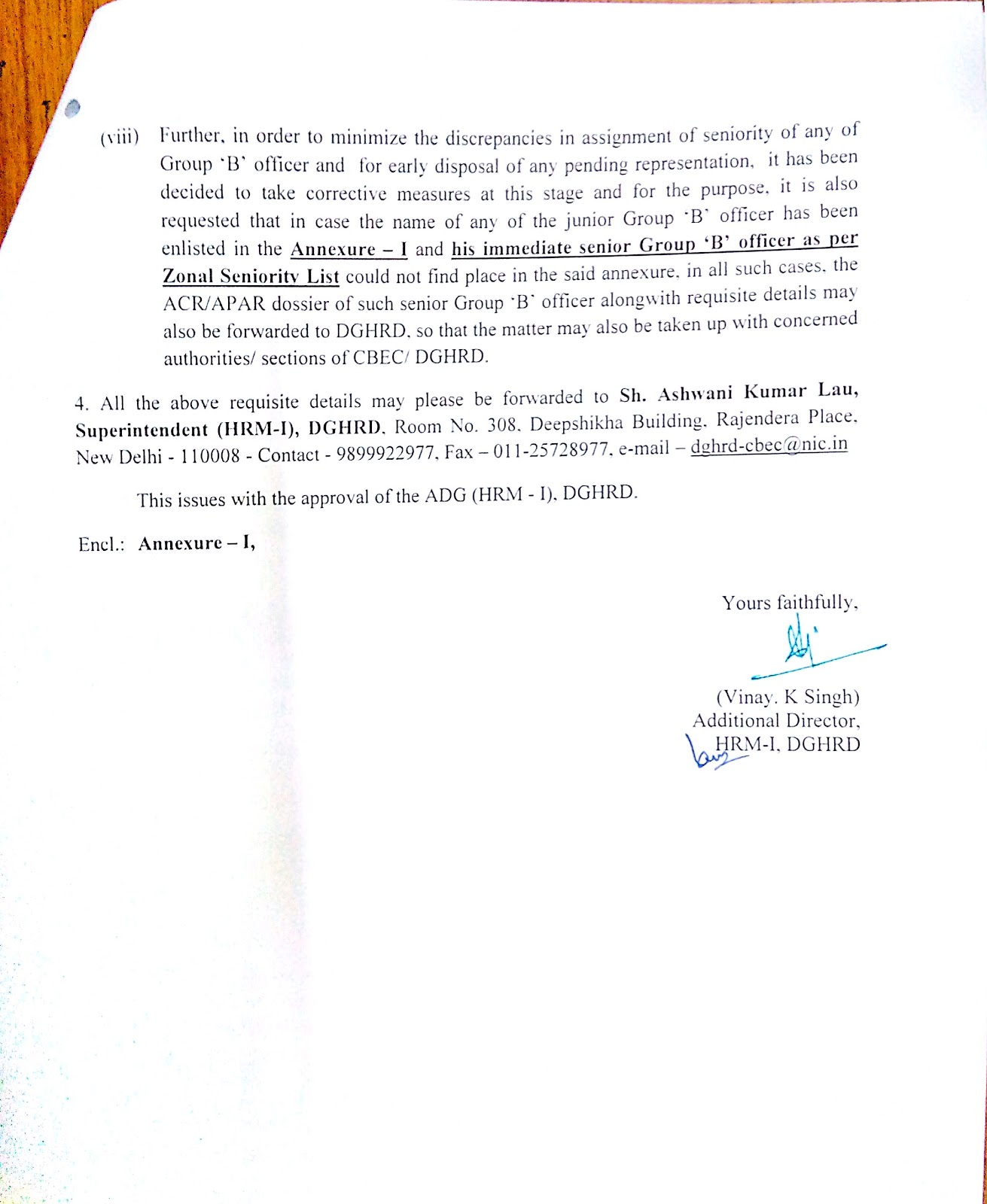 Cengo india dedicated to all central excise service tax and kindly find attached herewith the letter f no 8b112hrdhrm20155963 to 5991 dt 240815 of hrd sent to all ccas in ro dpc for the post of ac for spiritdancerdesigns Image collections