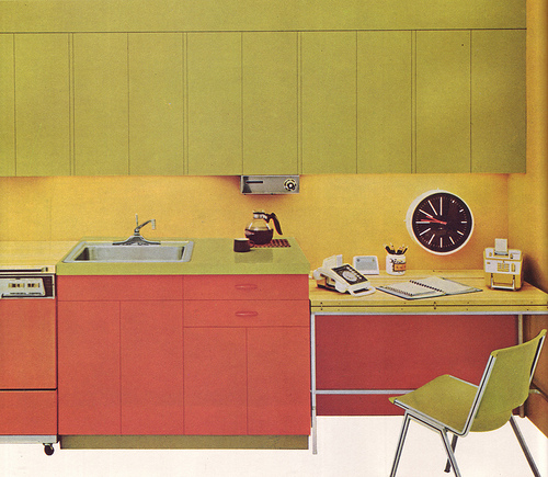 Habitaciones con paredes amarillas cocinas modernas - Habitaciones amarillas ...