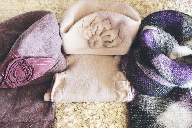 FW 2015 trends: 3 hat + scarf sets from Russia.Jesen/zima 2015 trendovi: salovi i kape.