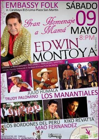 homenaje a mama Edwin Montoya
