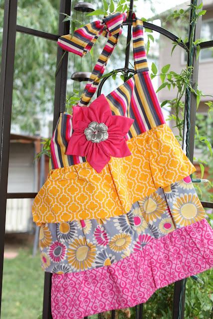 Pink Ruffles Bag