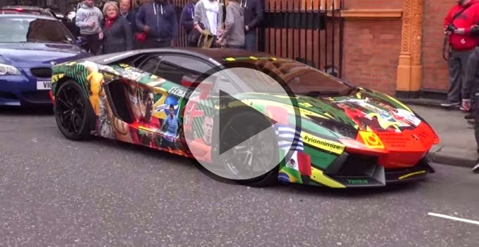 Car News 2014 Lamborghini Aventador Special World Cup