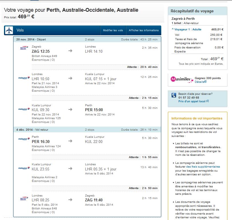 Australie low cost