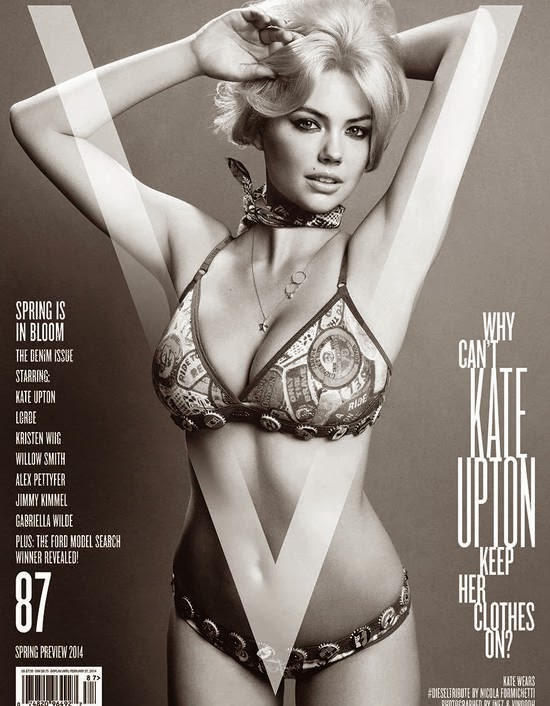 Kate Upton – V Magazine Cover (Spring 2014)