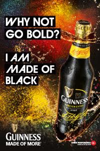 Guiness: Made of Black