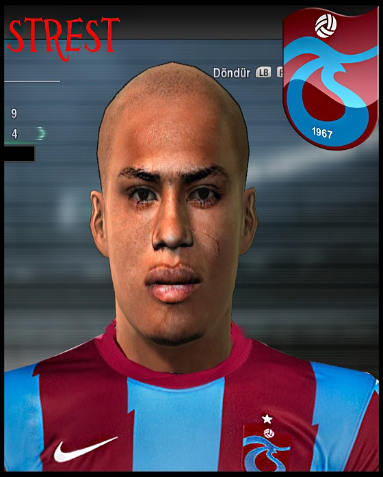 Pes Stats Habilidades Paulo Henrique: Stres Tube: Paulo Henrique-Trabzonspor-Pes 2011 Face