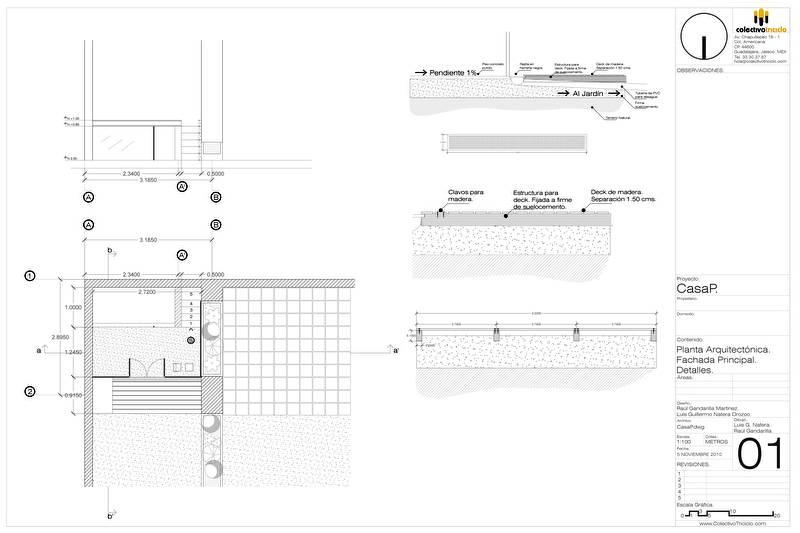 Arquitectura de casas moderna casa para tres perros for Pie de plano arquitectonico pdf