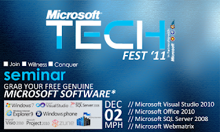 Event: Microsoft TECH Fest '11