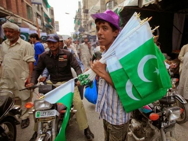 Pakistani Flag, 14th August