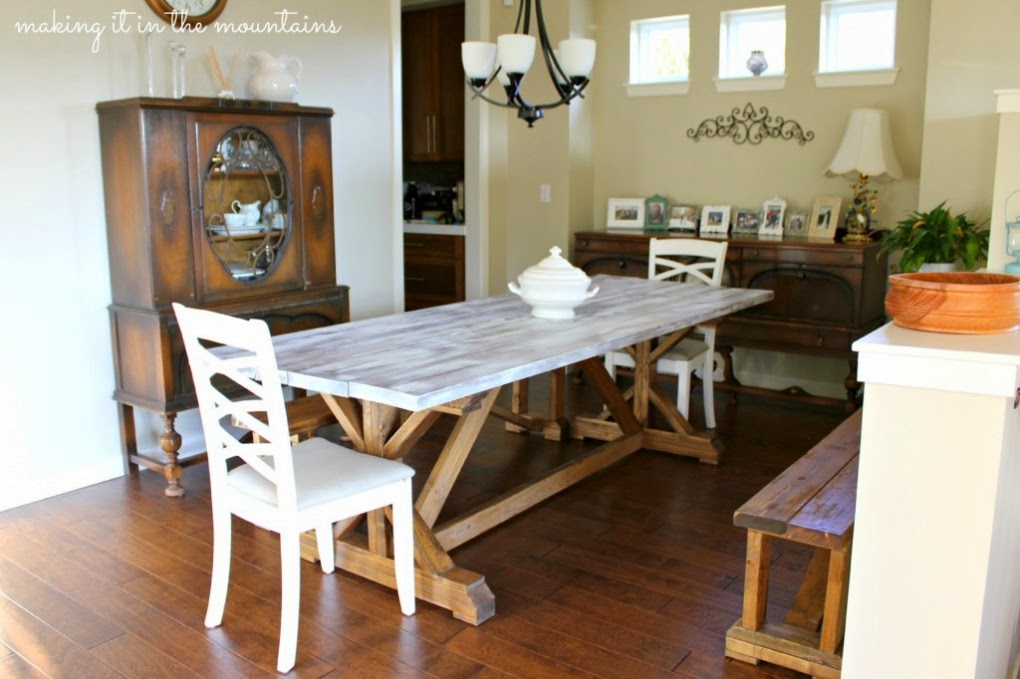 Kristi from Making it in the Mountains shows us how to whitewash wood and get the perfect look.