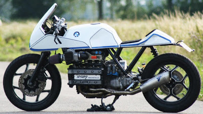 Roel Scheffers' Custom BMW K100RS, New Racing Life for Old Bike