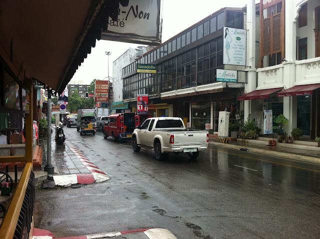 Las calles de Chian Mai
