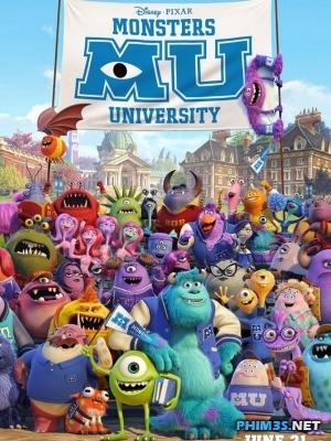 Lò Đao Tạo Quái Vật - Monsters University