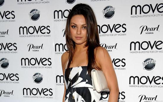 Mila Kunis Glamorous HD Wallpaper