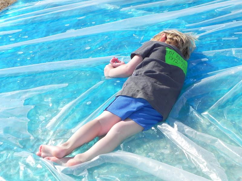 Giant Outdoor Waterbed Activities For Children Outdoor