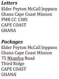 MAILING ADDRESSES