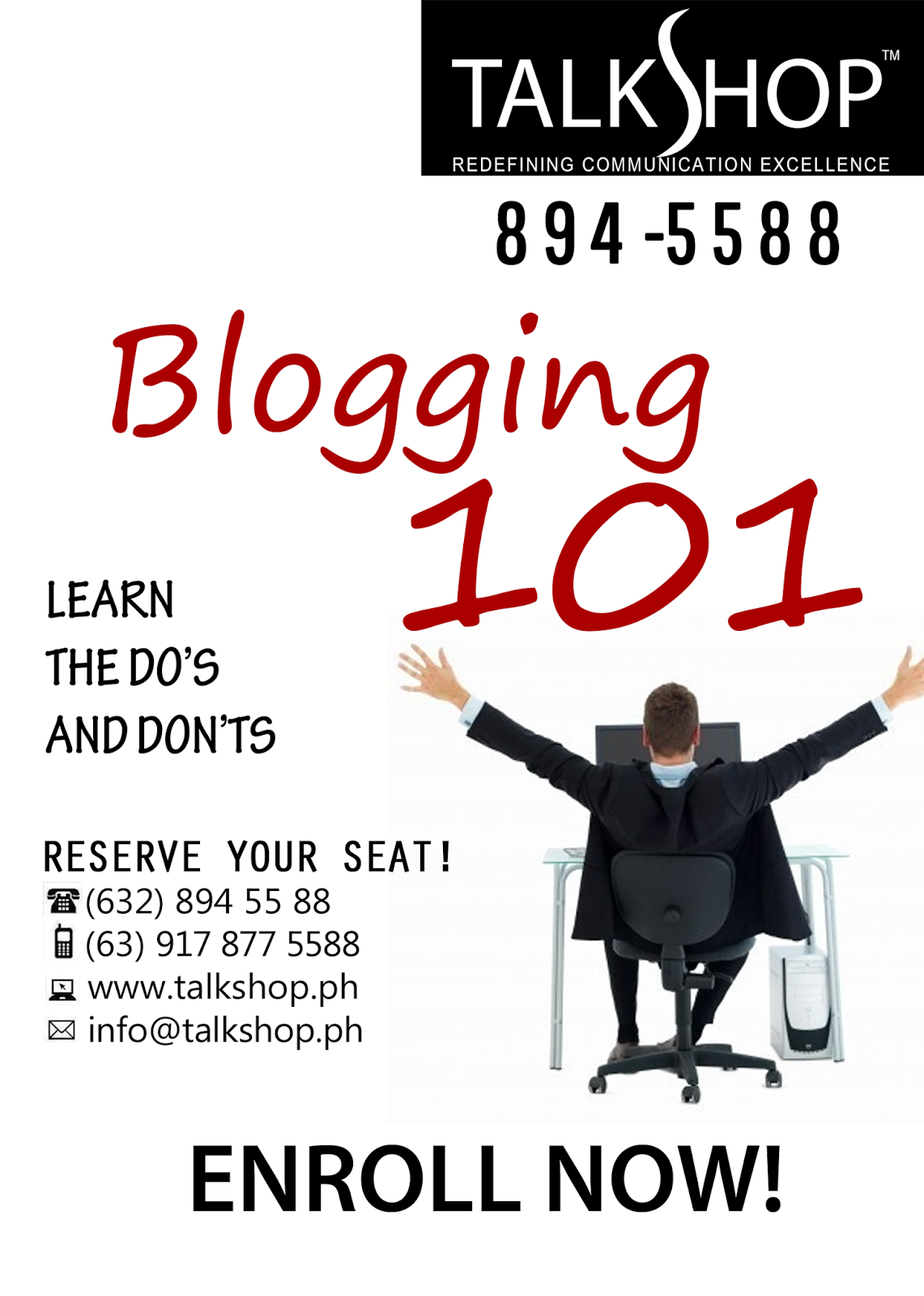 TalkShop Blogging 101