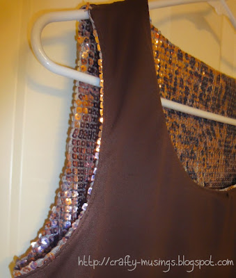 Kwik Sew 3740, understitching detail
