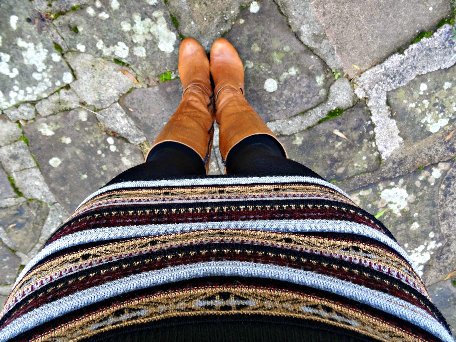 Autumn fashion skirts and scarfs close up skirt