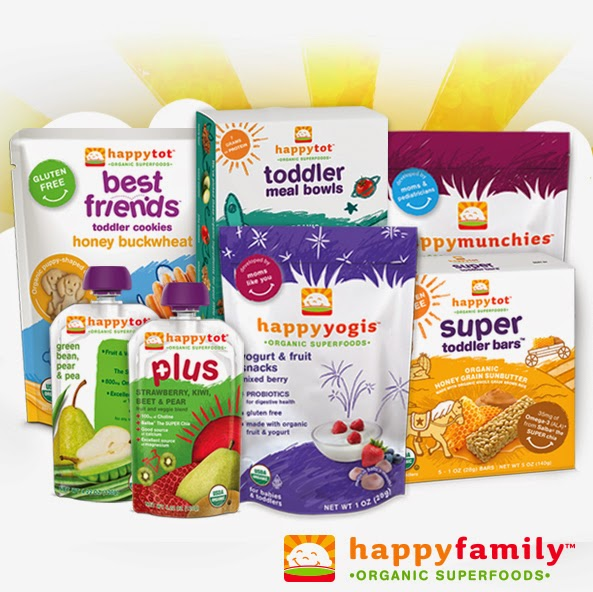 Toddler Pouches by Happy Family