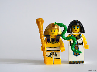 lego pharaoh and cleopatra
