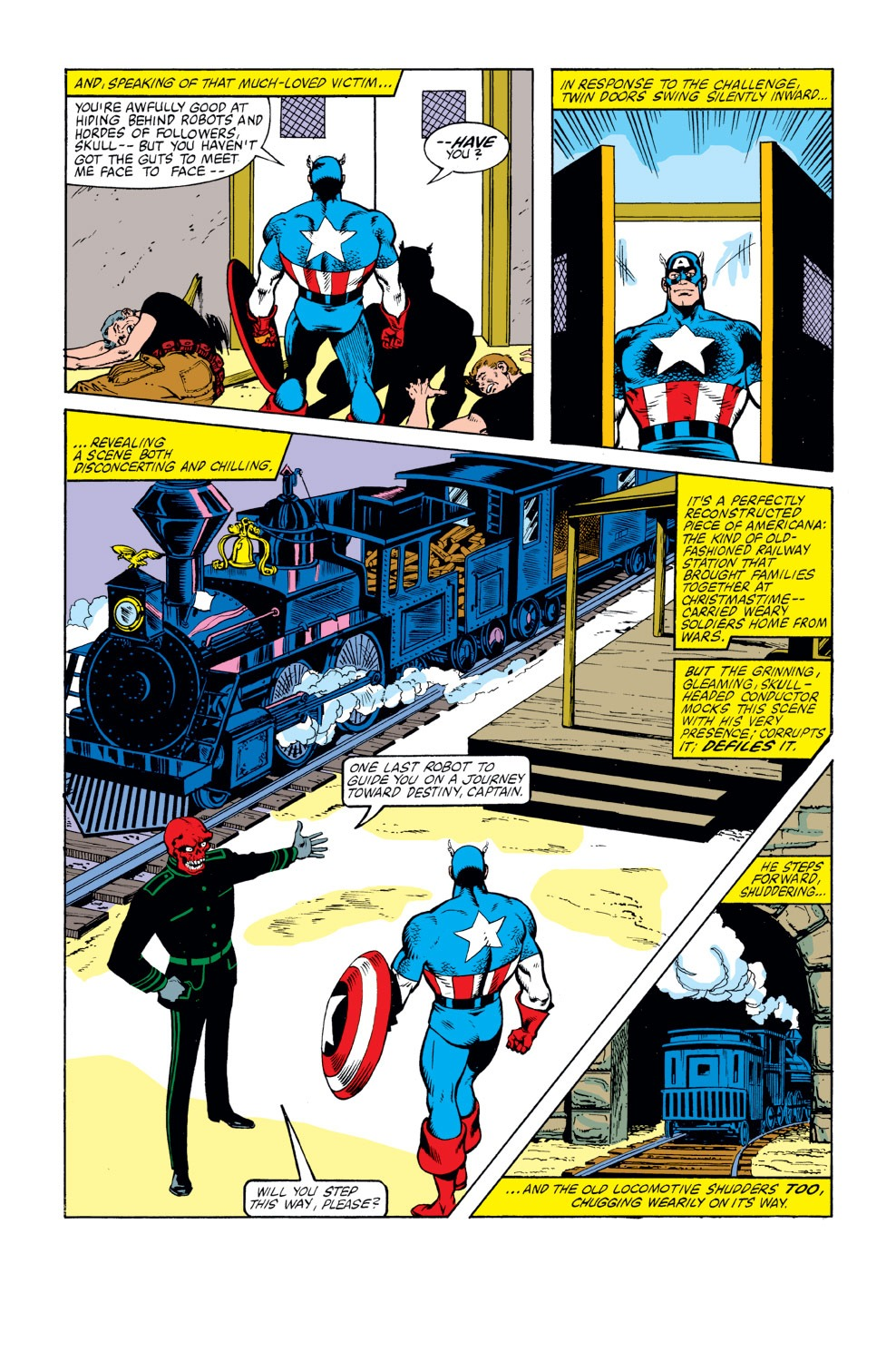 Captain America (1968) Issue #263 #178 - English 14
