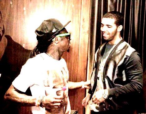 Foto do Drake e Lil Wayne