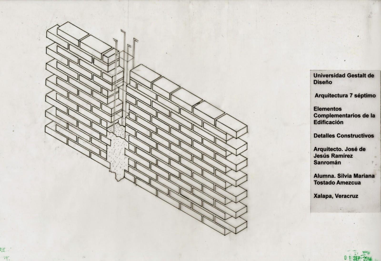 Elementos Complementarios De La Edificaci N 3 Plano