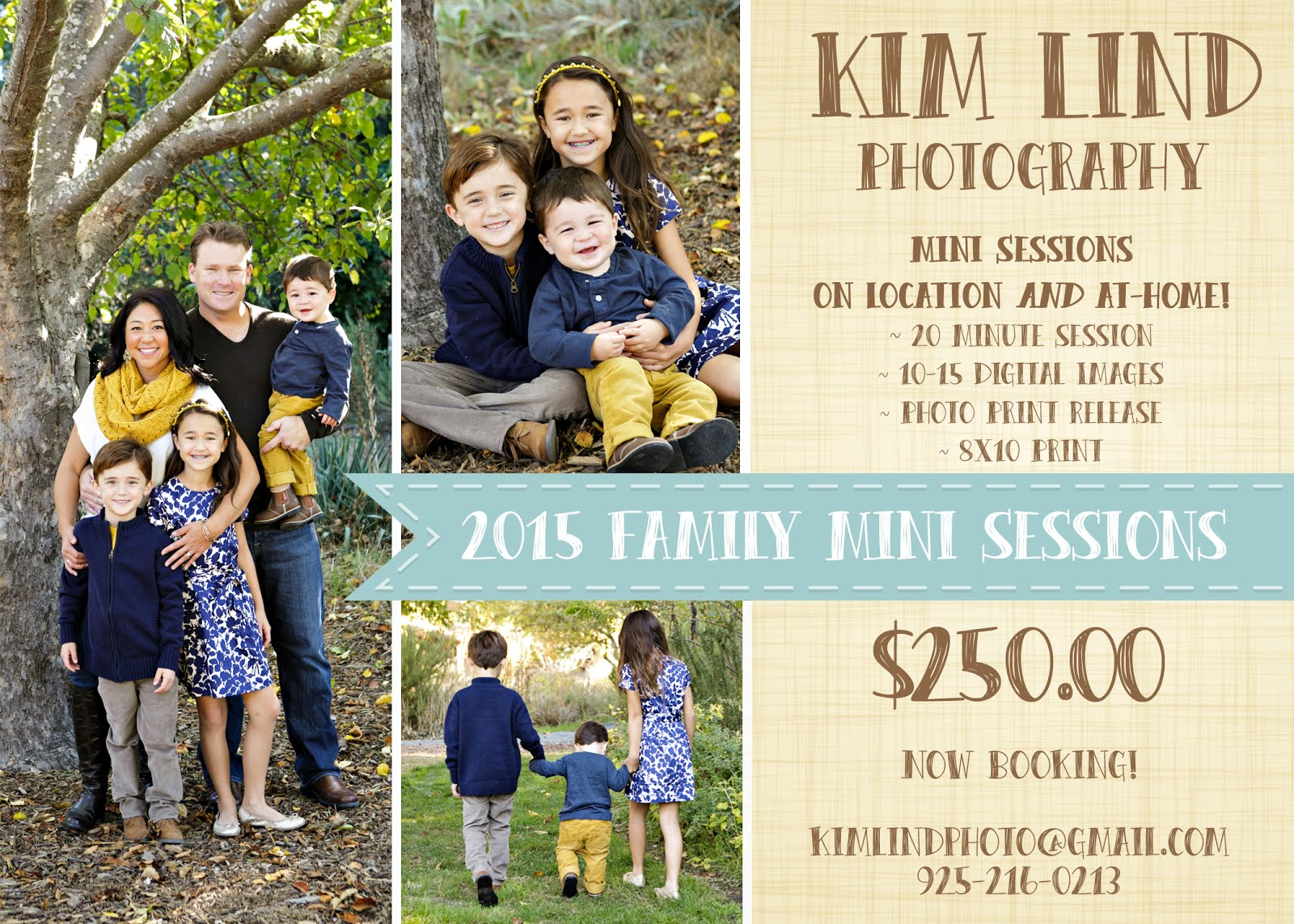 Mini-Sessions available year-round!