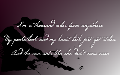 Down So Long - Jewel Song Lyric Quote in Text Image